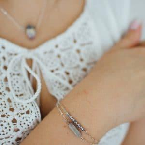 Lovely Marble Armband Set