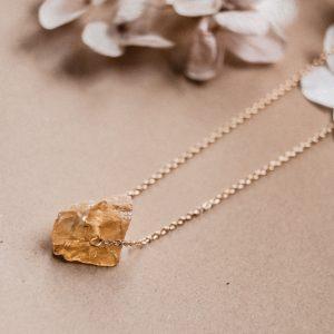 Gemstones Kette Citrin