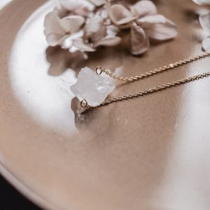 Gemstones Kette Bergkristall