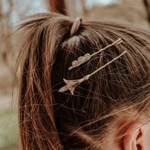 Fleur de Lys Haarklammer