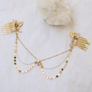 Dahlia Haarkette