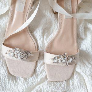 Schuhclips Silber