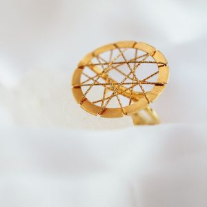Wired Vintage Ring
