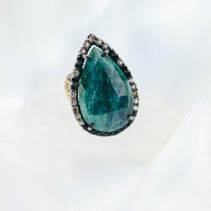 Vintage Tropfen Ring